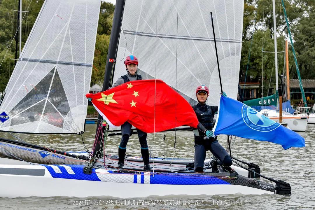 我國奪得東京奧運會帆船項目諾卡拉17級入場券