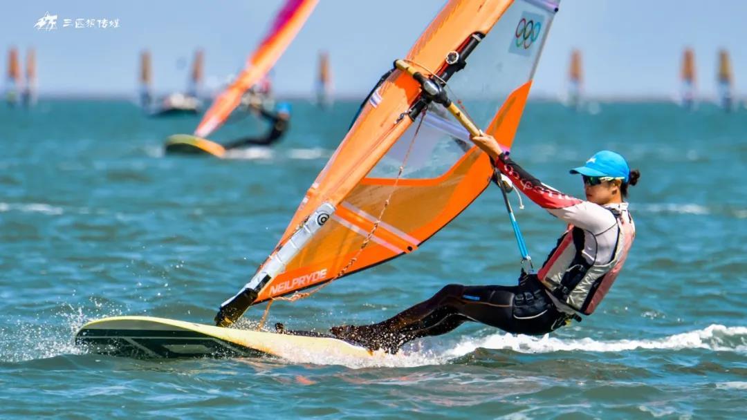 2021年全国帆板冠军赛暨东京奥运会帆板项目备战大合练荣成收帆