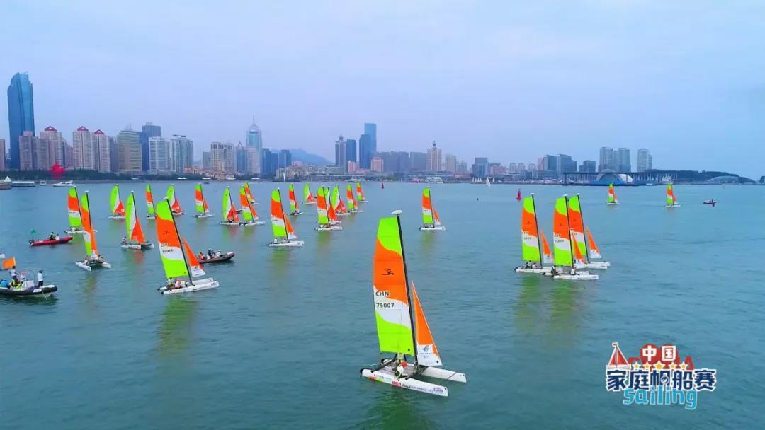 青岛奥帆中心迎中国家庭帆船赛 奥运遗产借大众帆船赛事惠及于民