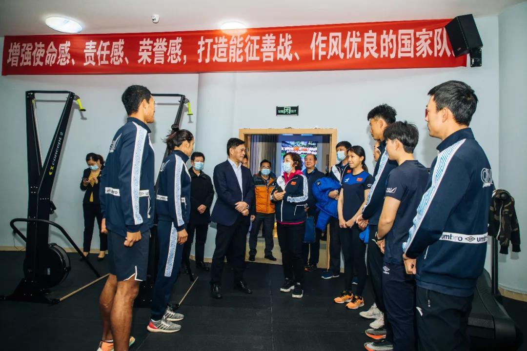 国家体育总局副局长李建明调研考察国家帆船帆板队奥运备战工作