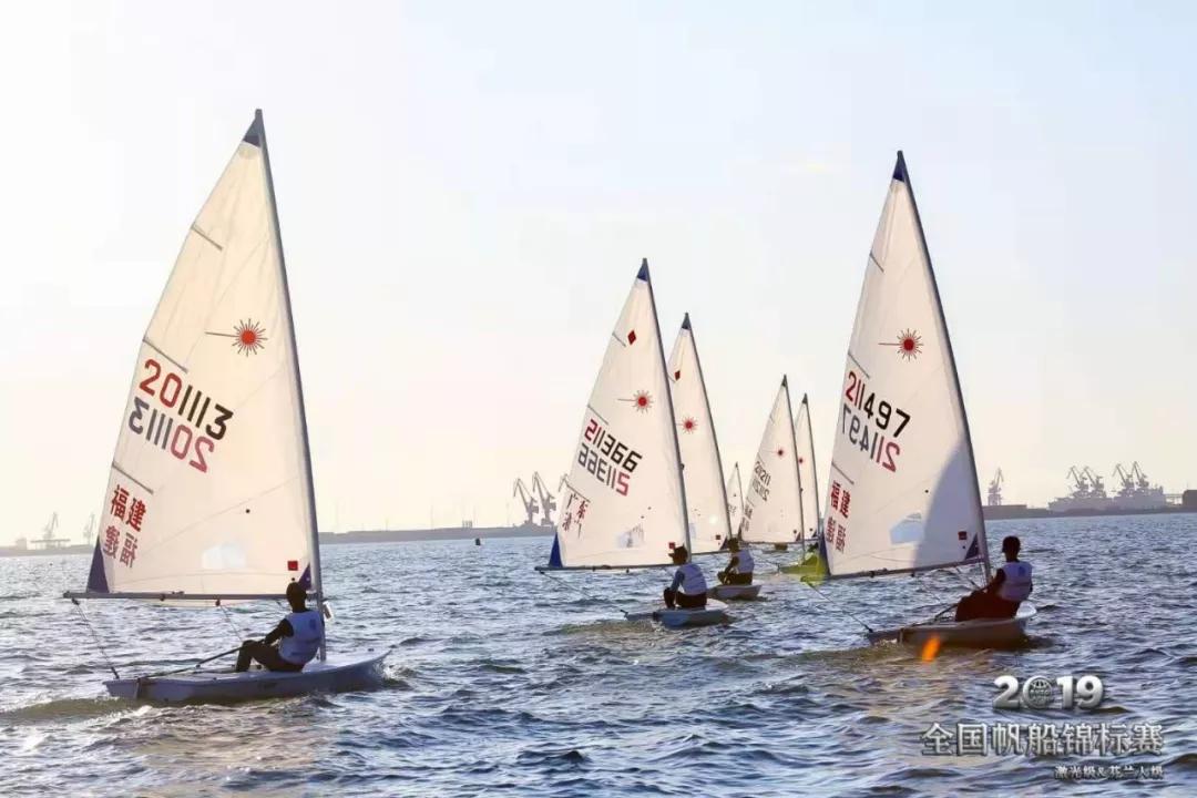 2019全国帆船锦标赛(激光及芬兰人级)激战正酣