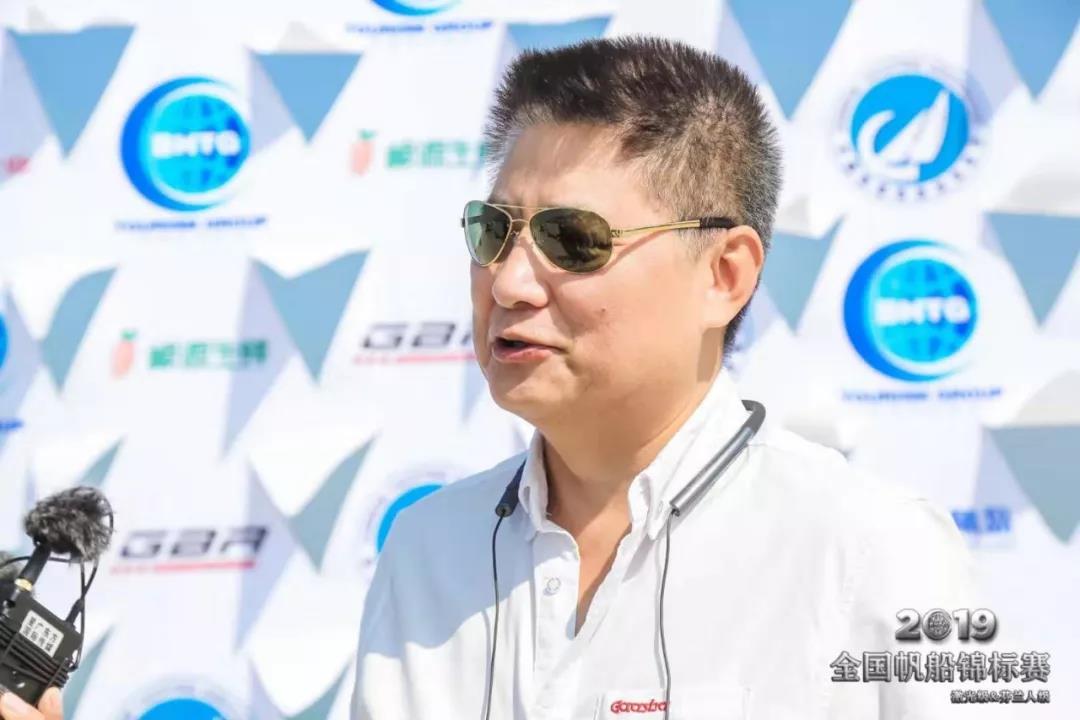 2019全国帆船锦标赛(激光及芬兰人级)在潍坊滨海开幕